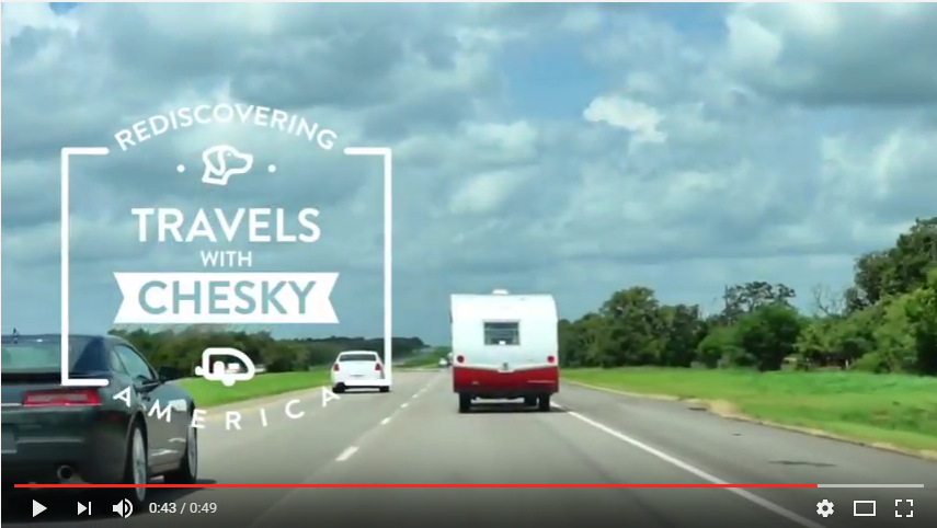 Travels with Chesky Intro Video on YouTube