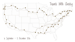 90 Days Around America