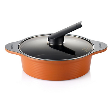 Happycall Alumite Ceramic Cooking Pot & Casserole 24cm low (2.8L)