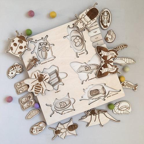 "Holzpuzzle ""Bugs Life"""