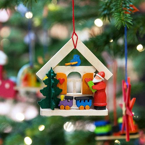 Haus Weihnachtsmann