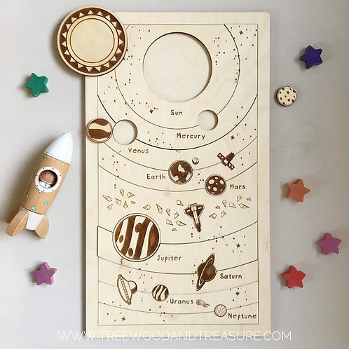 "Holzpuzzle ""The Solar System"""