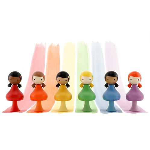 CLiCQUES RAINBOW GIRLS