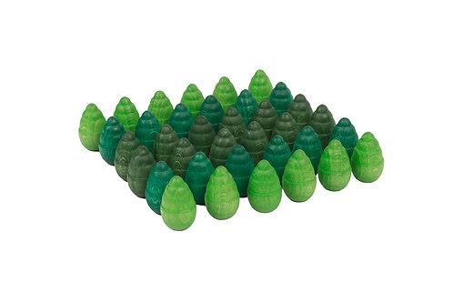 Grapat - Mandala Green Trees