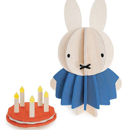 LOVI Miffy & Cake 10 cm