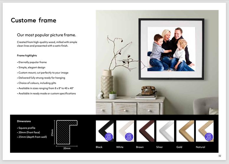 Custome Frames