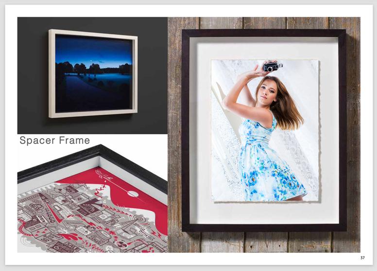 Spacer frames