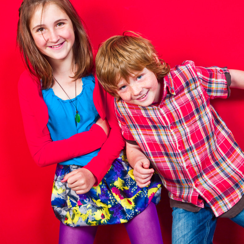Life Photographic family Photography Nottingham  red wall background