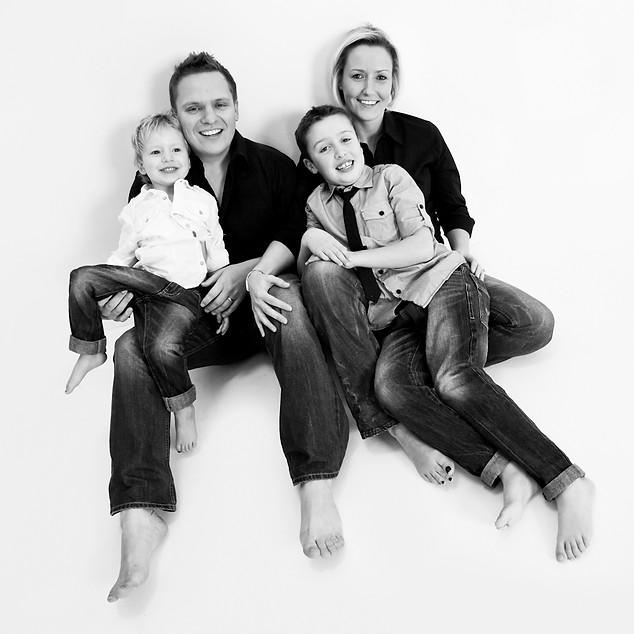 Life Photographic family Photography Nottingham  studio