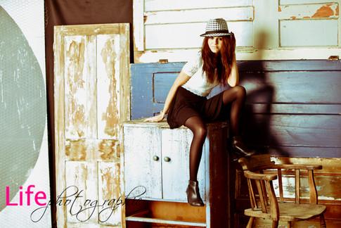 Life Photographic fashion & model portfolio Photography Nottingham studio