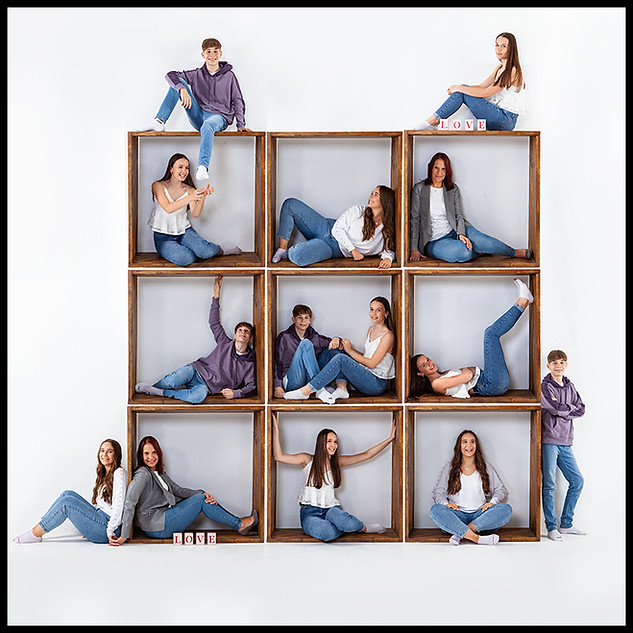 Life Photographic family Photography in a cube Nottingham  image