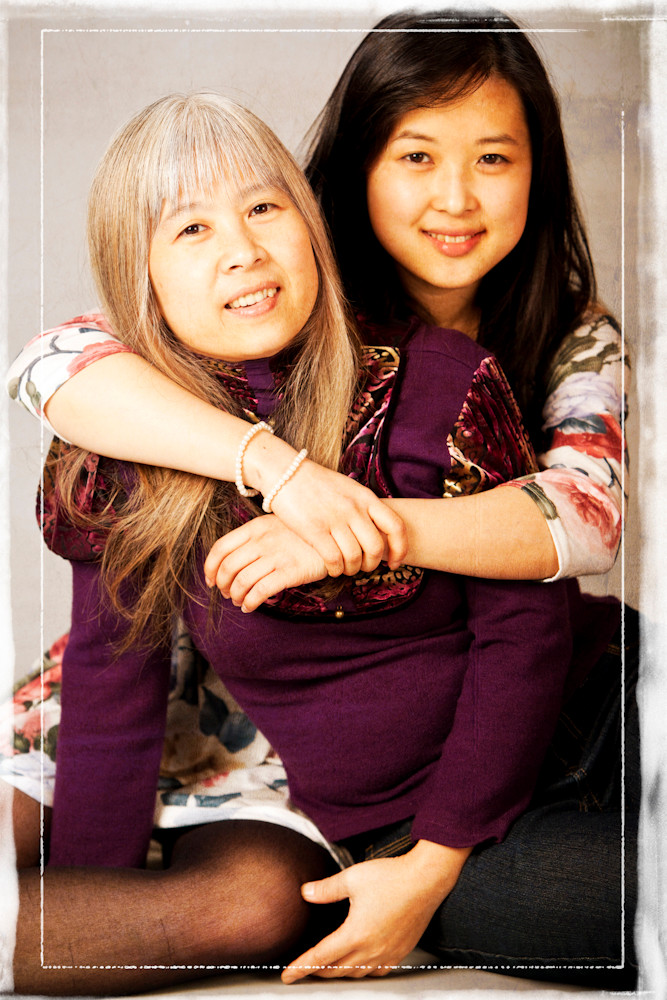 Life Photographic mother & daughter  Photography Nottingham  studio