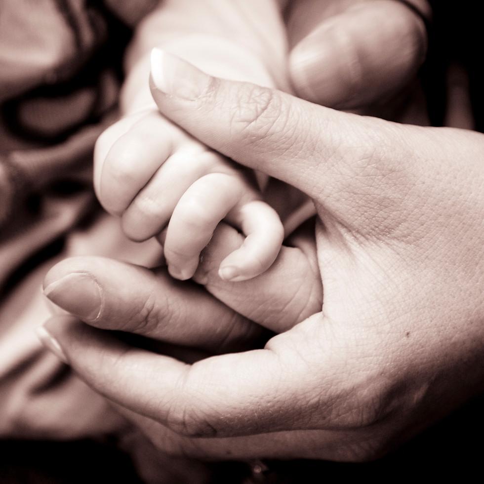 Life Photographic Baby hands Photography studio Nottingham