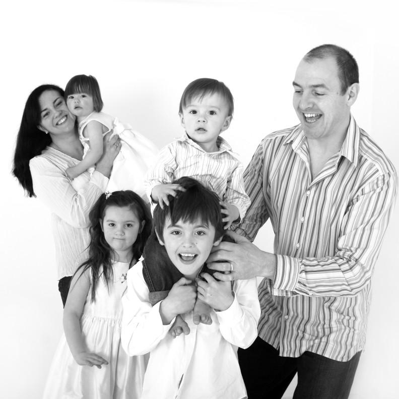 Life Photographic black & white family Photography Nottingham  image