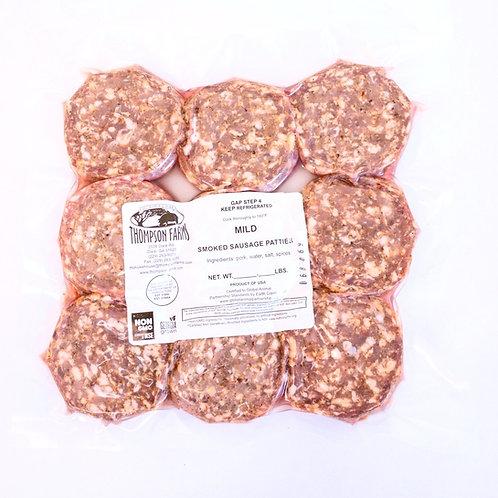 Smoked Sausage Patties- 1 lb.