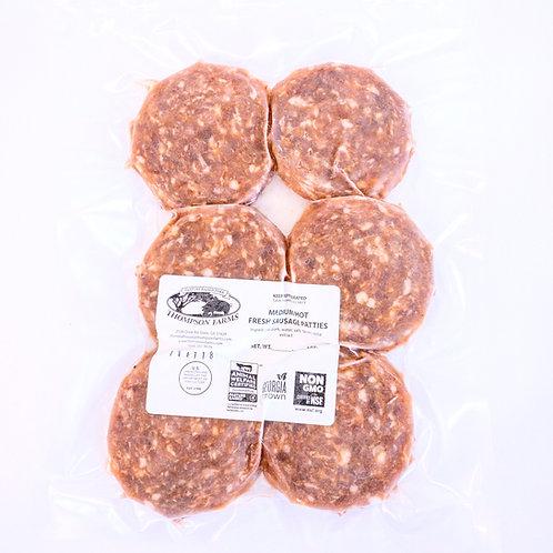 Fresh Sausage Patties- 1 lb.