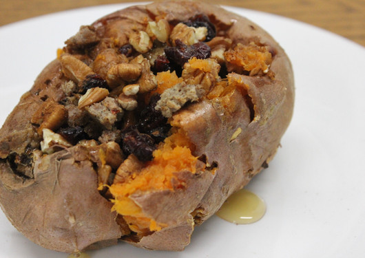 Breakfast Style Sweet Potato