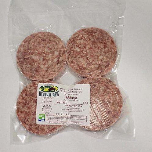 Pork Burger- 1 lb.