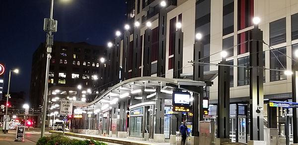 Metro Transit Nicollet Mall Transit Stat