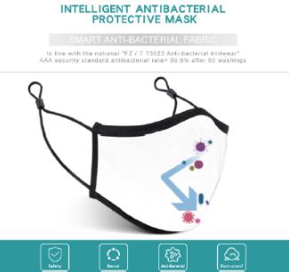 Smart Antibacterial Cotton Mask (5pcs / box)