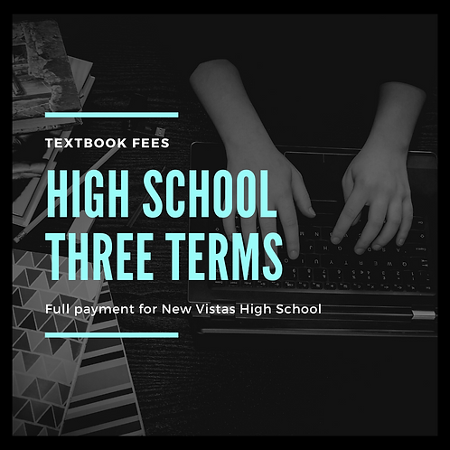 High School THREE terms - Full
