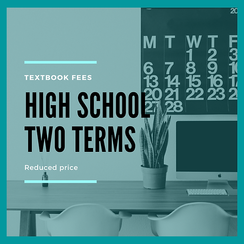 High School TWO terms - Reduced