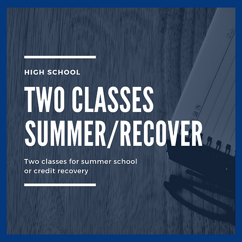 Summer / Credit Recovery - Double