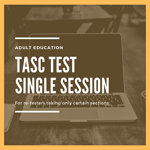 TASC Test - Single session