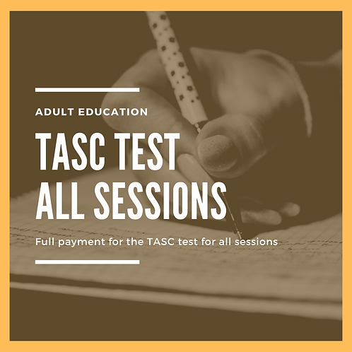 TASC Test - All sessions