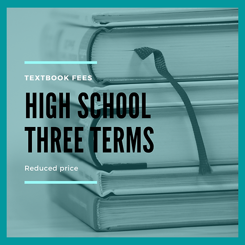 High School THREE terms - Reduced