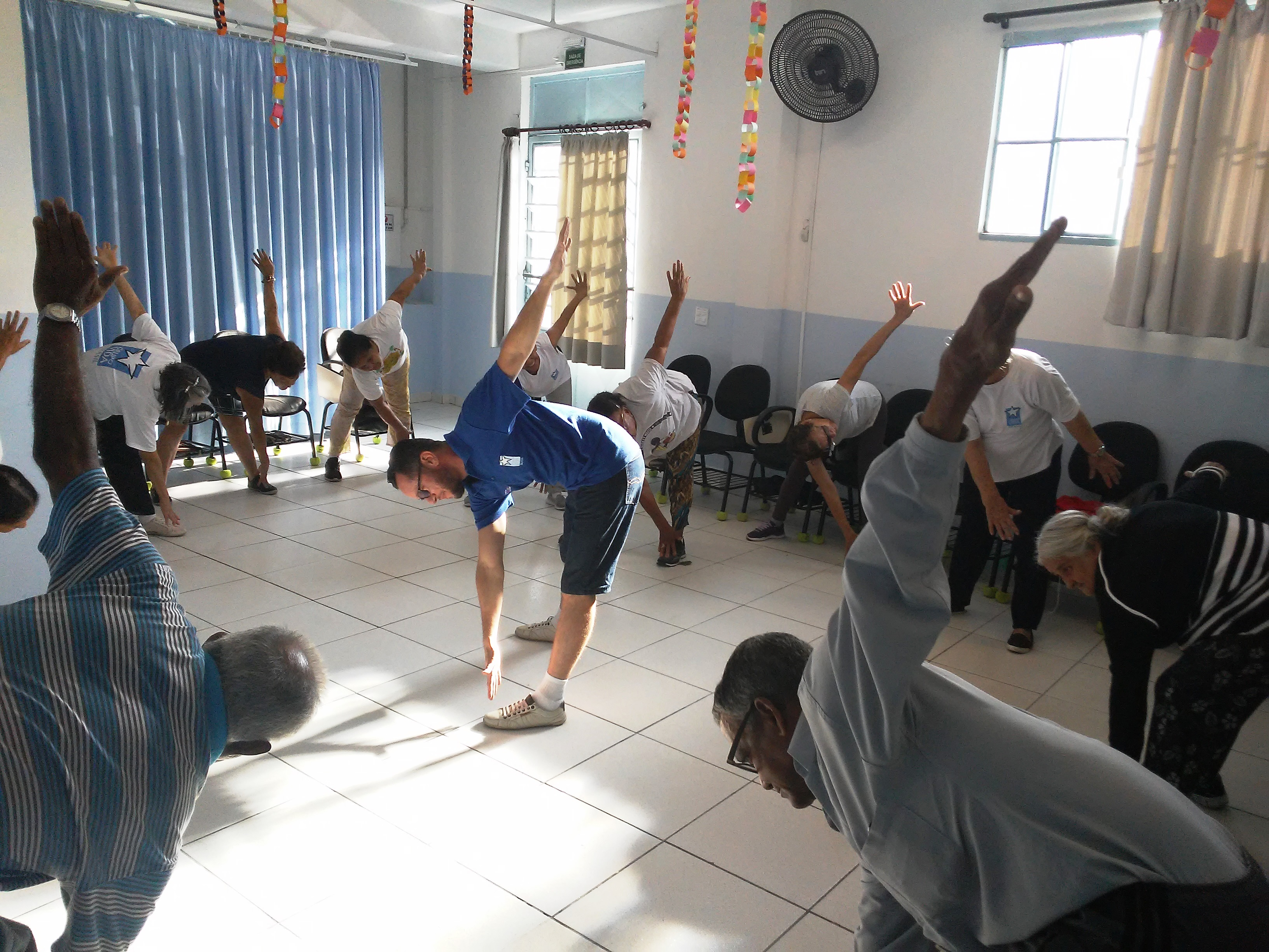 Fisioterapia em grupo