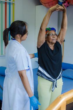 Atendimento da Fisioterapia