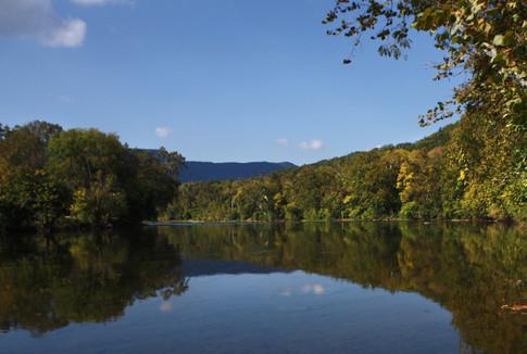 Shenandoah River  at Shenandoah River State Park