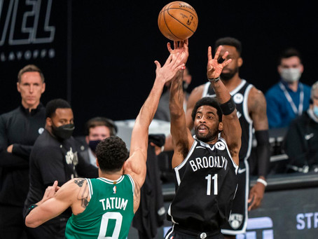 Keep the draft picks, Boston. Brooklyn Nets make quick work of the Celtics in the first round