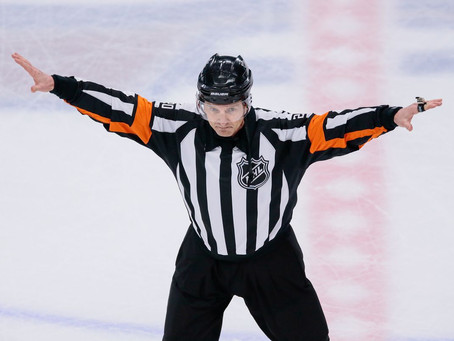 Longtime referee Tim Peel banned from the NHL for life