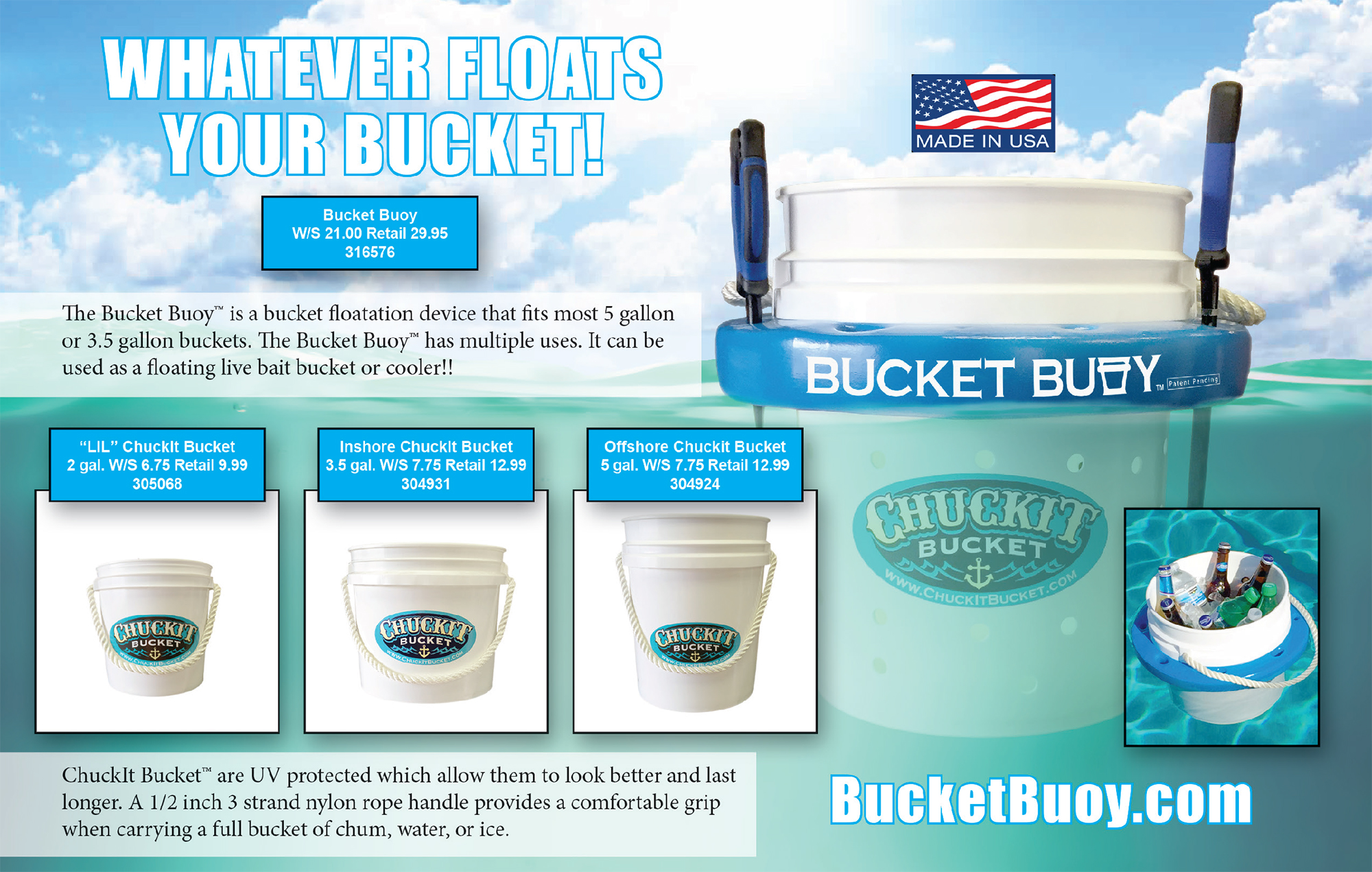 Bucket Buoy CAD