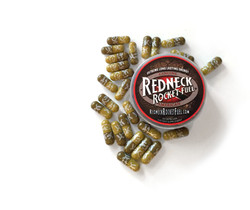 Redneck Rocket Fuel Packaging