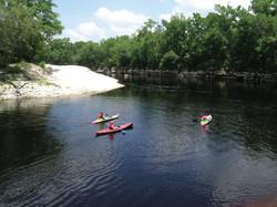 Suwannee River Canoeing