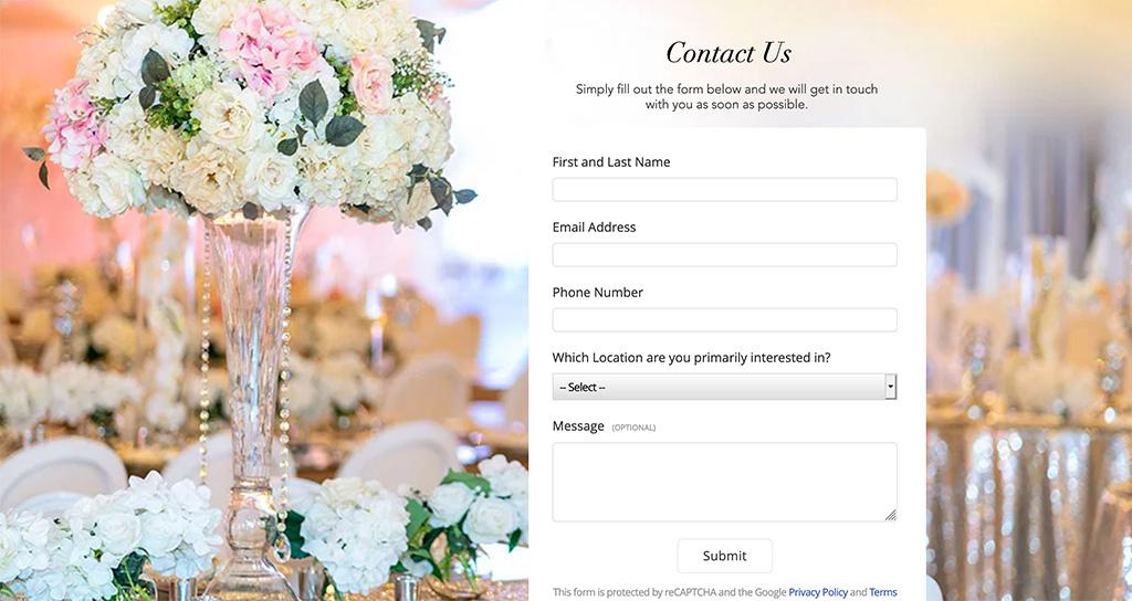 Contact Crystal Ballroom
