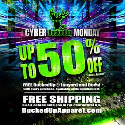 BuckedUp Cyber Monday 2017