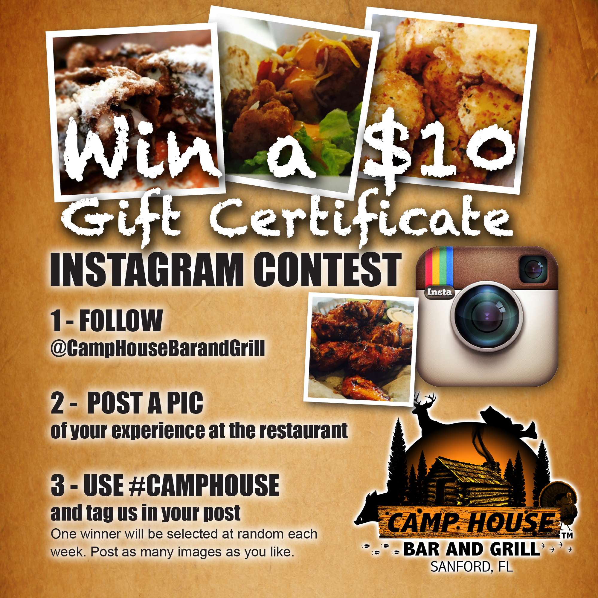 IG Camp House Contest