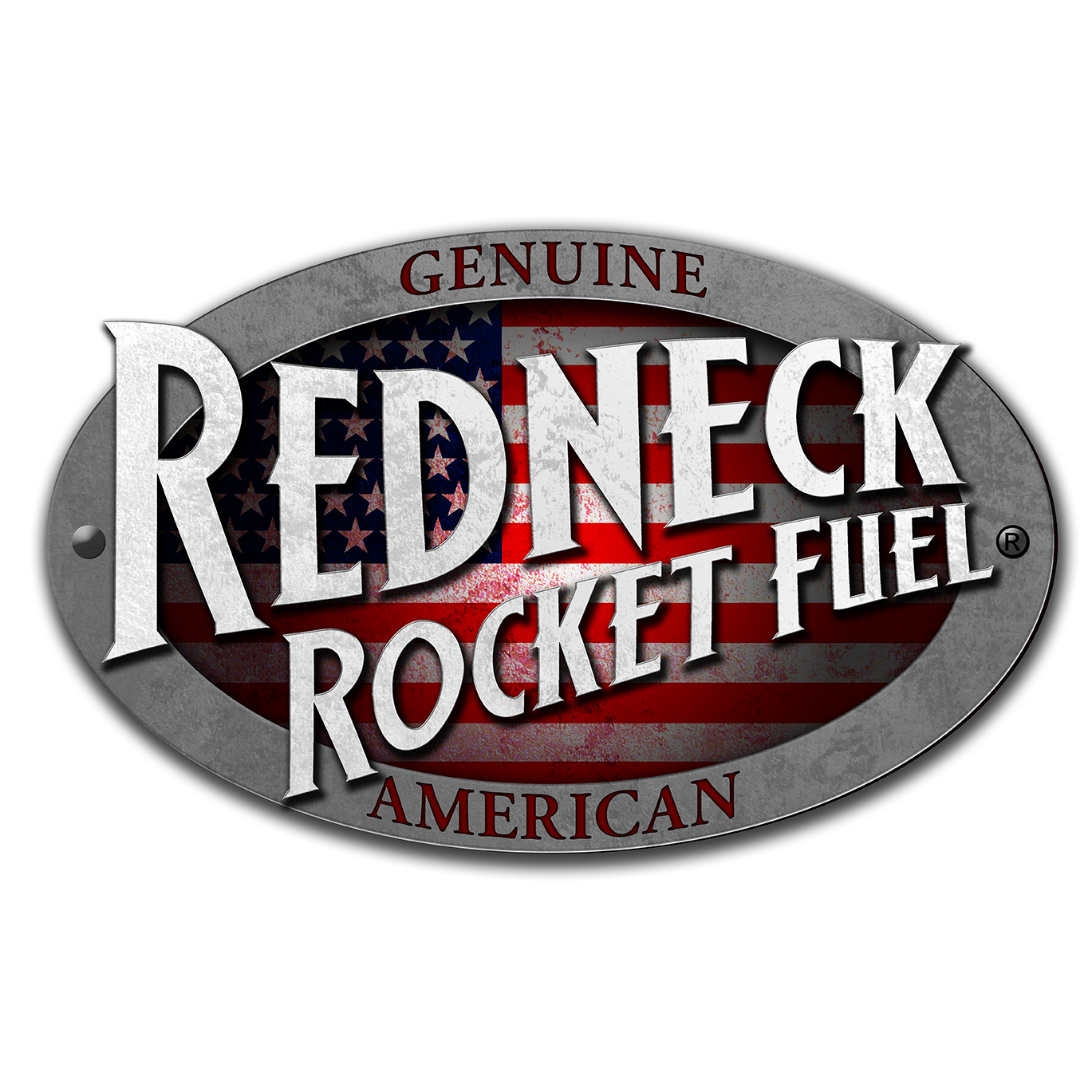 Redneck Rocket Fuel USA Logo