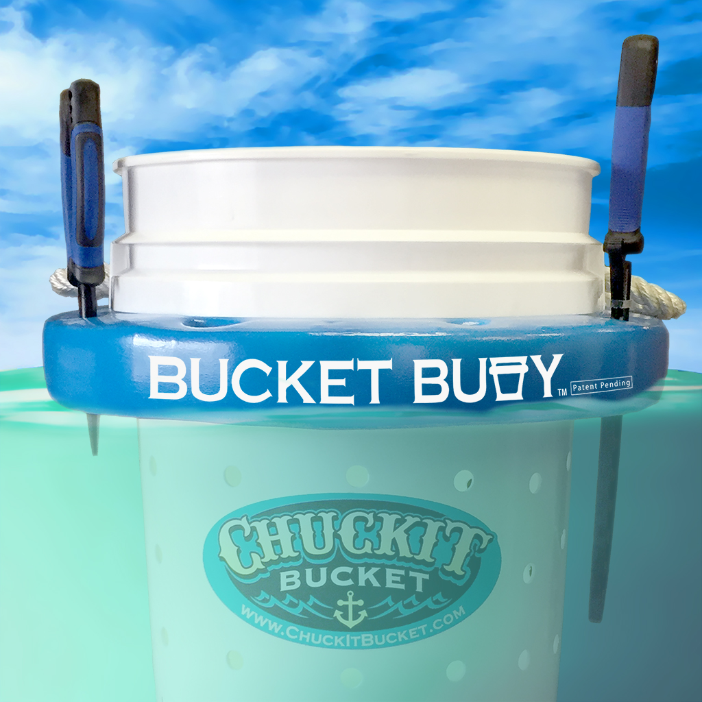 Bucket Buoy in the Water