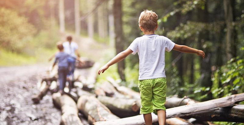 Get Kids Outdoors to Improve Mental and Physical Well-being.