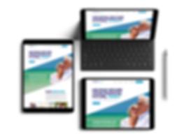 financial advisor website design, web design, high-end website design, professional web design agency, wix website design, wix expert designers, financial web design. tablet website design