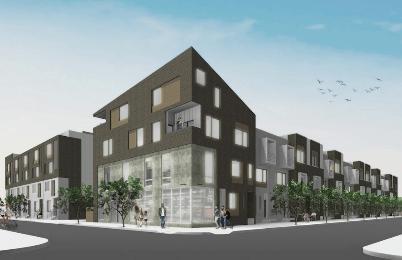 Houses, Condos, Shops Coming to South Kensington Lot