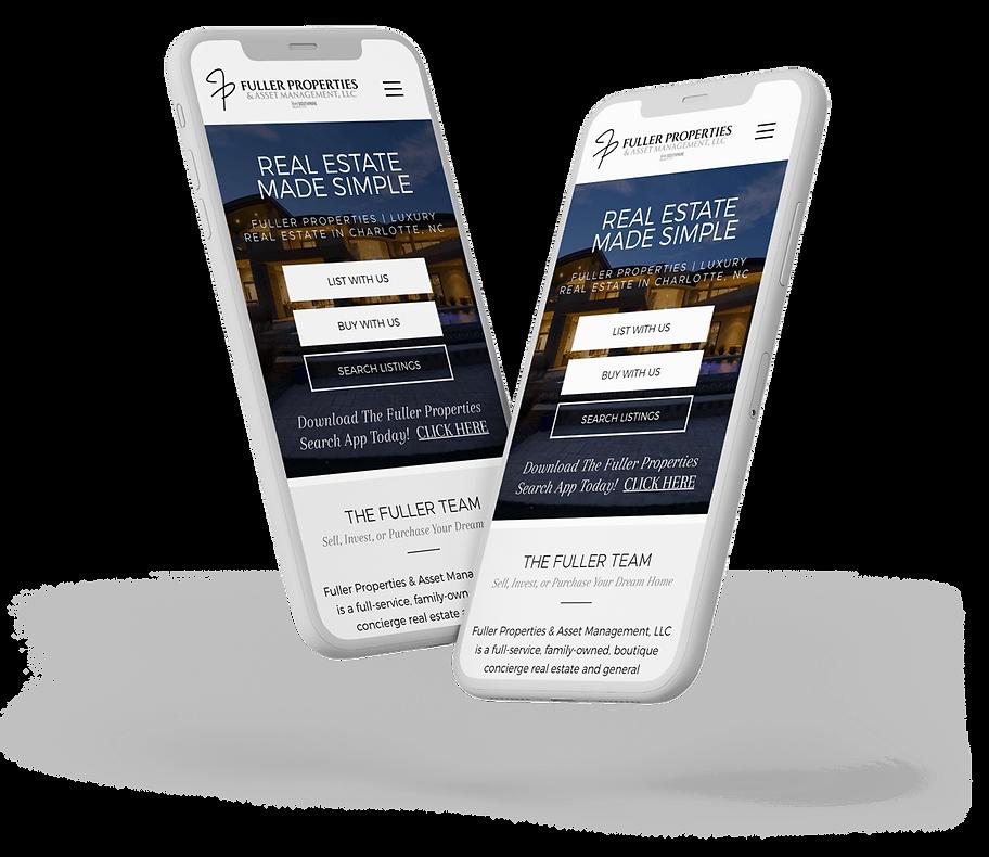 Real Estate Website Design, Mobile Website Design