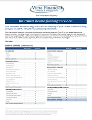 Viera Financial Income planning