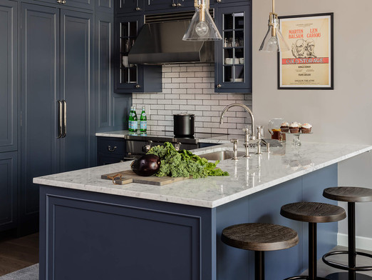NOT JUST WHITE KITCHENS ANYMORE
