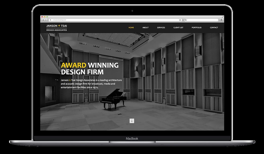 janson tsai website design, web design, high-end website design, professional web design agency, wix website design, wix expert designers